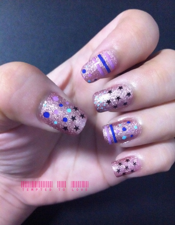 Nail decal   Tempted To Love
