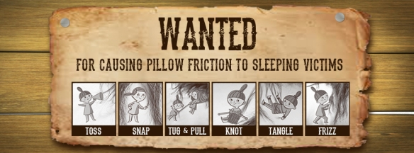 5. Essential Pillow Damage Criminals Wanted Poster